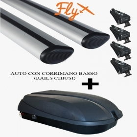 PORTATUTTO MERCEDES GLC RAILS