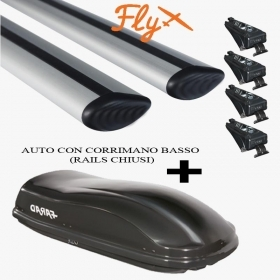 BARRE PORTATUTTO BMW X3 RAILS